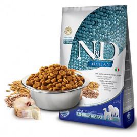 N & D Low Ocean Balık&Portakal Orta Büyük Irk Köpek Maması 2,5 Kg