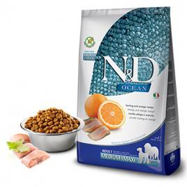 N & D Ocean Ringa Balık&Portakal Tahılsız Köpek Maması 2,5 Kg