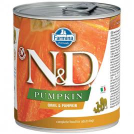 N & D Pumpkin Bıldırcın Balkabağı Köpek Konservesi 6x285 Gr