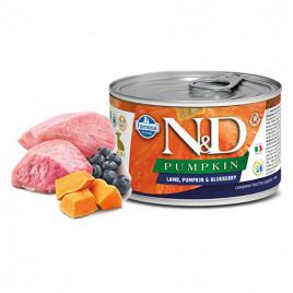N & D Pumpkin Kuzu Yaban Mersini Yavru Köpek Konservesi 140 Gr