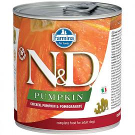N & D Pumpkin Tavuk Balkabağı Nar Köpek Konservesi 6x285 Gr