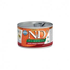 N & D Pumpkin Tavuk Balkabağı Narlı Köpek Konservesi 6x140 Gr