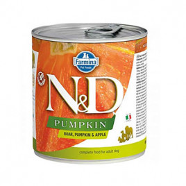 N & D Pumpkin Yaban Domuzu Yetişkin Köpek Konservesi 6x285 Gr