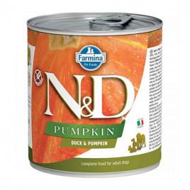 N & D Pumpkin Ördek Balkabağı Yetişkin Köpek Konservesi 6x285 Gr