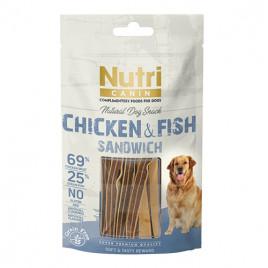 Canin Chicken & Fish Sandwich Köpek Ödülü 80 Gr