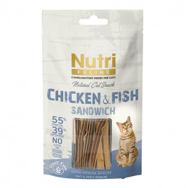 Feline Chicken&Fish Sandwich 50 Gr