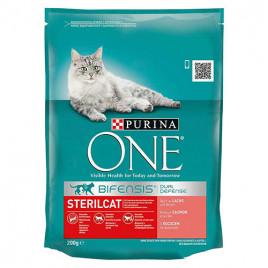 Sterilised Cat Salmon 200 Gr