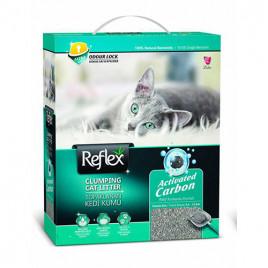 Reflex Aktif Karbonlu Topaklanan Kedi Kumu 10 Lt