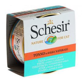 Schesir Tonbalıklı Soslu Yetişkin Kedi Konservesi 6x70 Gr