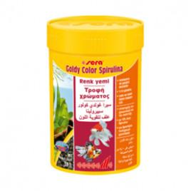 Goldy Color Spirulina Balık Yemi 250 Ml