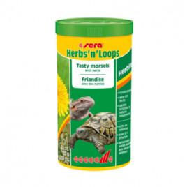 Herbs N Loops Bitkilerle Lezzetli Lokmalar Kaplumbağa Yemi 1000 Ml
