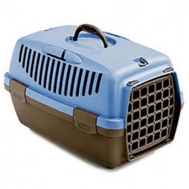 Gullıver 2 Taşıma Kabı Plastik Kapak Mavi
