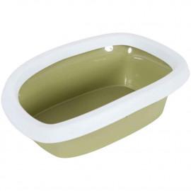 Stefanplast Sılvester 10Lt Açık Kedi Tuvaleti Yeşil
