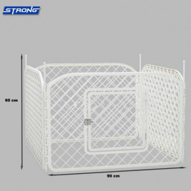 Strong Plastik Çit (4 Adet 90X60 Panel)