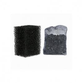 2+1 Sünger Filtre Aktif Karbon Filtre M 200