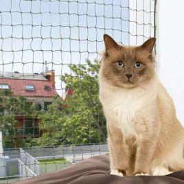 Trixie Kedi Cam Koruma Ağı 8X3M, Yeşil