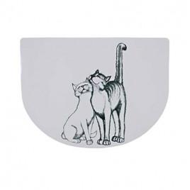Kedi Mama Servisi , 40X30 Cm , Yarım Daire