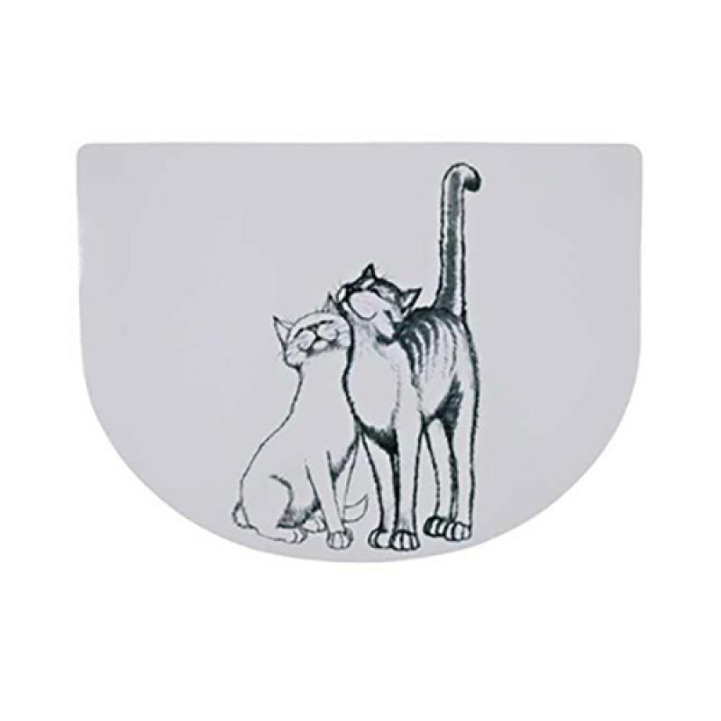 Trixie Kedi Mama Servisi , 40X30 Cm , Yarım Daire