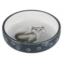 Trixie Kısa Burunlu Kedi Seramik Mama Su Kabı