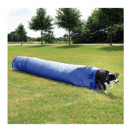 Köpek Agility Eğitim Tüneli, Mavi 60 Cm-5 M