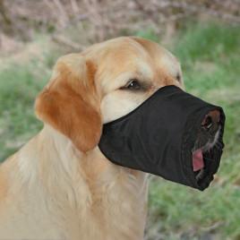 Köpek Ağızlık M 24 Cm Siyah