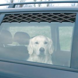 Trixie Köpek Araba Camı Parmaklığı, 24-70Cm,Siyah