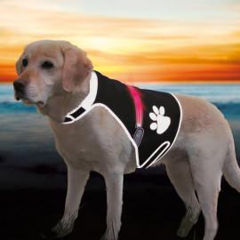 Trixie Köpek Işıklı Fosforlu Güvenlik Yeleği L