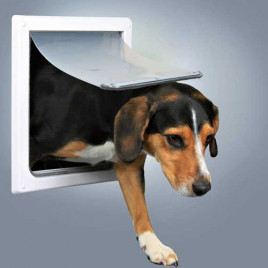 Köpek Kapısı M-Xl 2 Yönlü Kilitleme Beyaz