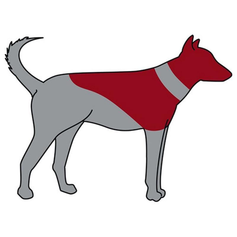 Trixie Köpek Koruyucu Şişme Yakalık M-L, Mavi