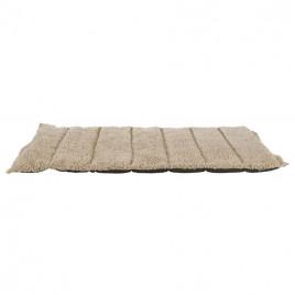 Köpek Yatağı, Katlanabilir İnce 120x80 Cm Koyu Kahve Bej