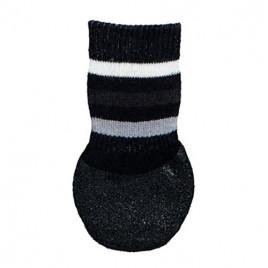 Trixie Köpek Çorabı, Kaymaz L–XL, 2 Adet Siyah