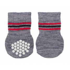 Trixie Köpek Çorabı, Kaymaz L- XL, 2 Adet Gri