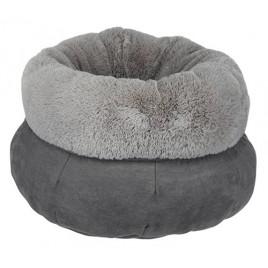 Trixie Köpek ve Kedi Yatağı, ø 45 cm, Gri/Açık Gri