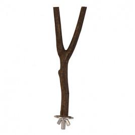 Kuş Ağaç Dalı Y Tünek 35 Cm 18 Mm