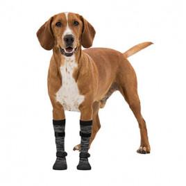 Yumuşak Köpek Çizmesi XL 2 Adet Siyah-Gri
