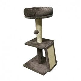 Rampalı Oturaklı Kedi Tırmalama 35x35x72 Cm